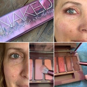Urban Decay Cherry is MADE for Green Eyes!